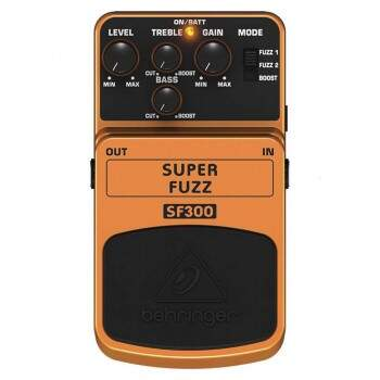 Pedal Behringer Sf300 Super Fuzz 3 Mode