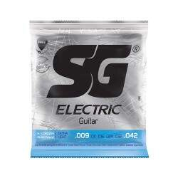 Encordoamento Guitarra Sg 009 - 042  Extra Light 6 Cordas
