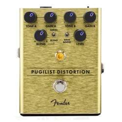 Pedal Fender Pugilist Distortion Para Guitarra
