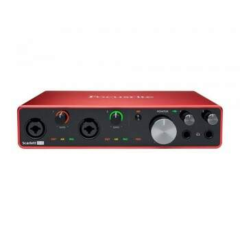 Interface De Áudio Focusrite Scarlett 8i6 3rd Gen