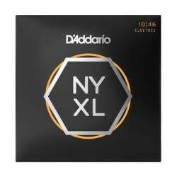 Encordoamento Guitarra Daddario 010 046 Nyxl Carbon Steel
