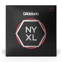 Encordoamento Guitarra Daddario 010 052 Nyxl Carbon Steel