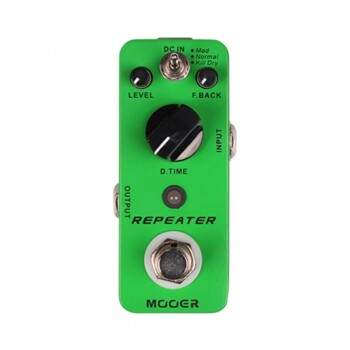 Pedal Mooer Repeater Digital Delay 3 Modes Mdl1