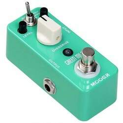 Pedal Mooer Overdrive Green Mile Mmo