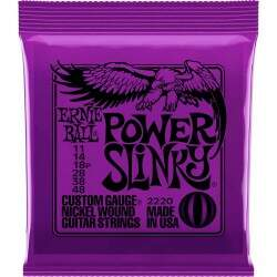 Encordoamento Guitarra Ernie Ball Power Slinky 011 2220
