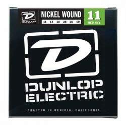 Encordoamento Para Guitarra Dunlop (.011-.050) Med Heavy Nickel