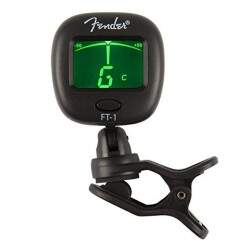 Afinador Fender FT-1 Pro Clip On Preto