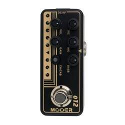 Pedal Mooer Pré Amp M012 Us Gold 100 Friedman Brown Eye 100