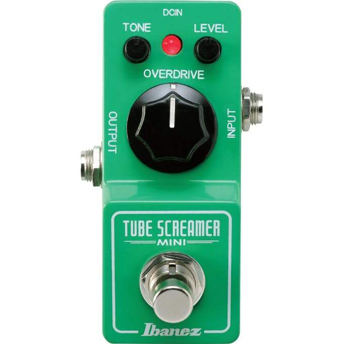 Pedal Ibanez Para Guitarra Tube Screamer Ts9 Mini