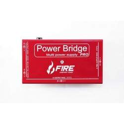 Fonte Pedal Power Bridge Pro Vermelha Fire Custom Shop