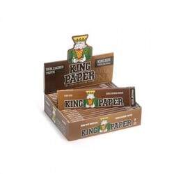 Seda King Paper Brown - King Size (Display com 20)