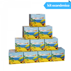 KIT 5KG CARVÃO JOY HEXAGONAL 500G