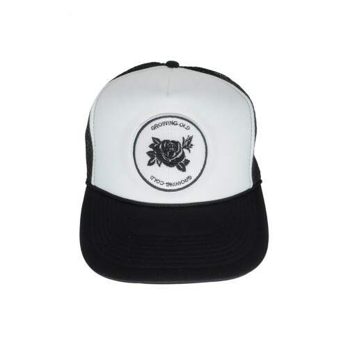 Boné Trucker Growing Old Preto