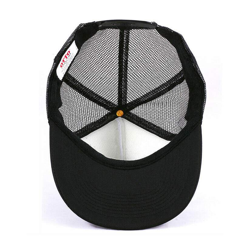 Boné Trucker Old School Preto