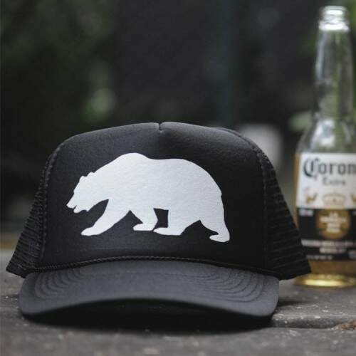 Boné Trucker California Bear