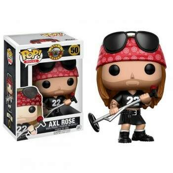 Funko Pop Axl Rose - Banda Guns n Roses