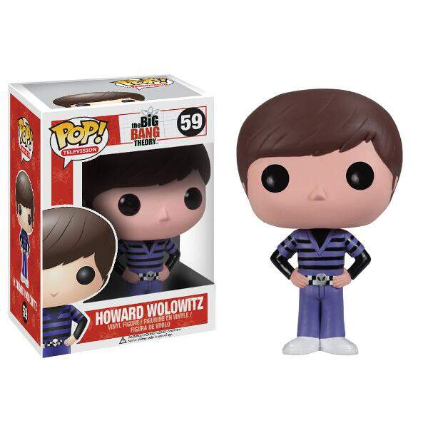 Funko Pop Howard Wolowitz - The Big Bang Theory