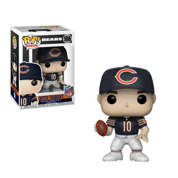 Funko Pop - Mitch Trubisky - Bears - NFL