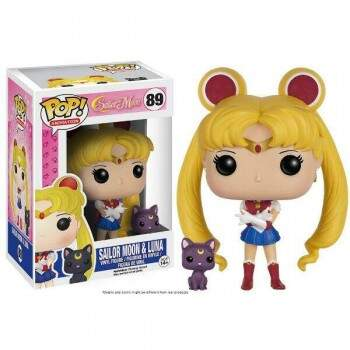 Funko Pop - Sailor Moon e Luna - Anime Sailor Moon