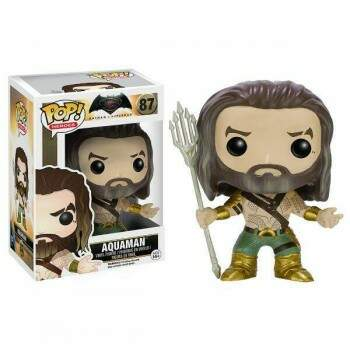 Funko Pop - Aquaman número 87 - Filme Batman vs Superman