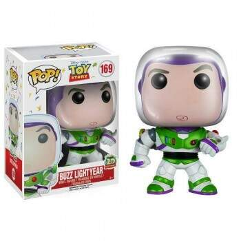 Funko Pop Buzz Lightyear - Animação Toy Story - Disney
