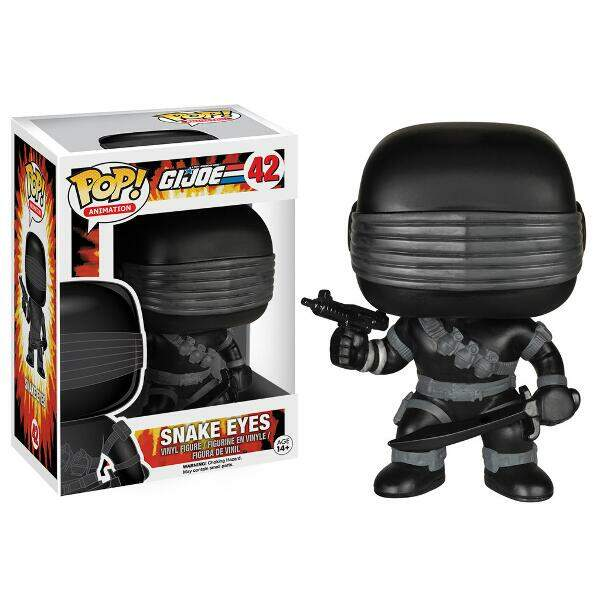 Funko Pop Snake Eyes - G I Joe