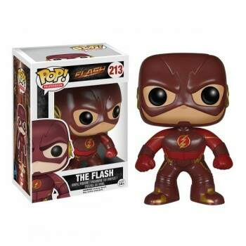 Funko Pop - The Flash número 213 - Série DC Comics