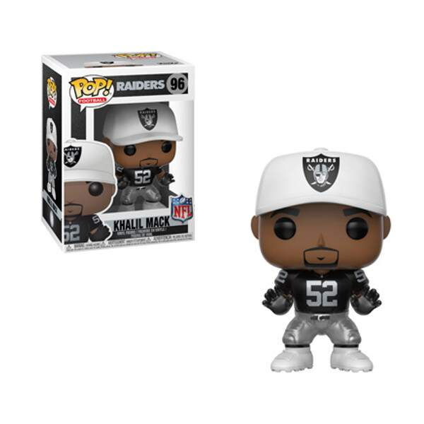 Funko Pop - Khalil Mack - Oakland Raiders  - NFL