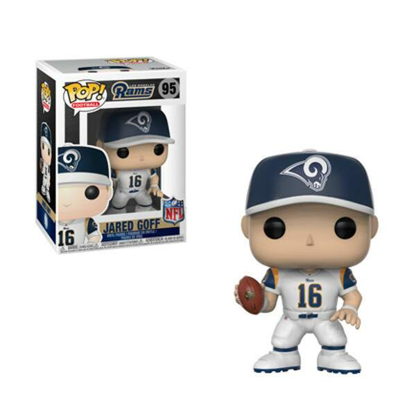 Funko Pop - Jared Goff - Los Angeles Rams  - NFL