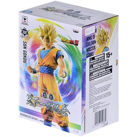Banpresto - Goku Super Sayajin - Dragon Ball Master Stars