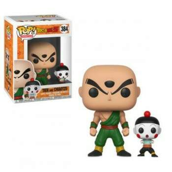 Funko Pop - Tenshinhan e Chaos - Dragon Ball Z