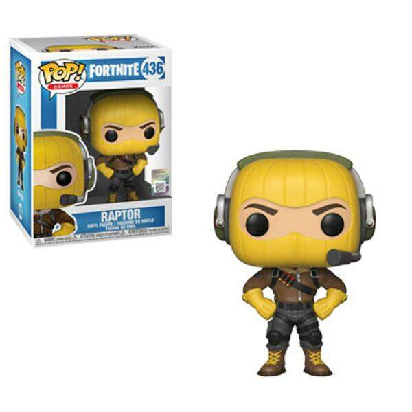 Funko Pop - Raptor - Game Fortnite