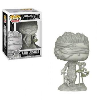 Funko Pop - Lady Justice - Banda Metallica