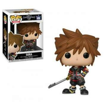Funko Pop - Sora número 406 - Game Kingdom Hearts