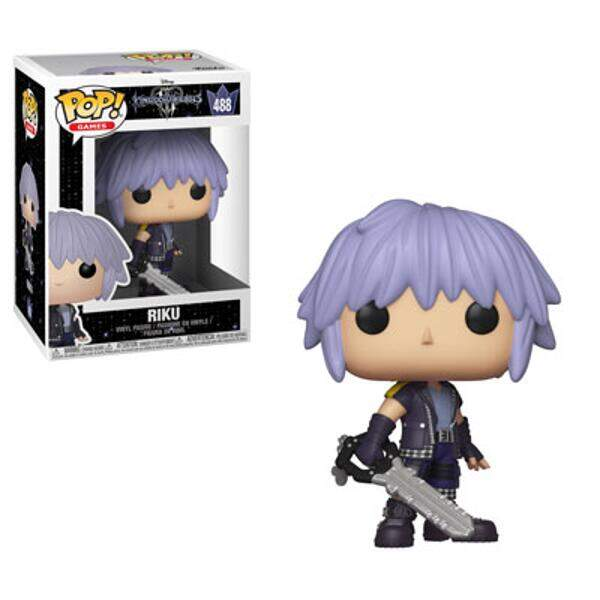 Funko Pop - Riku número 488 - Game Kingdom Hearts
