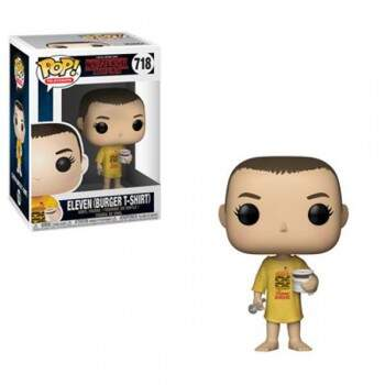Funko Pop - Eleven número 718 - Série Stranger Things