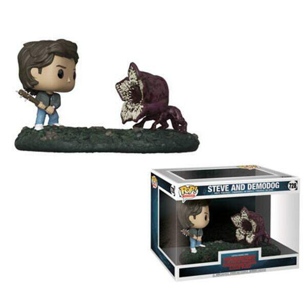 Funko Pop - Steve vs Demodog - Série Stranger Things