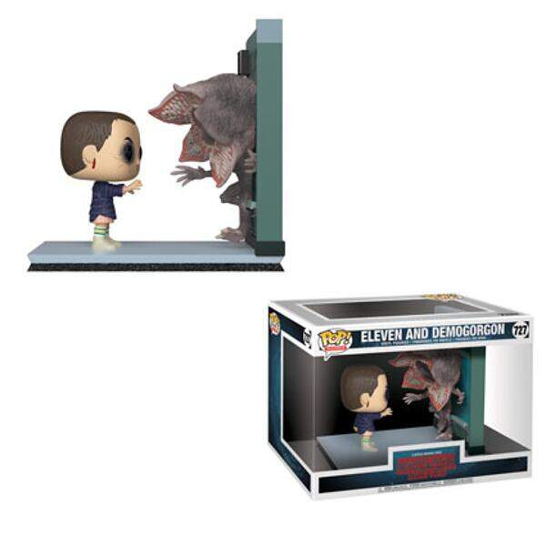 Funko Pop - Eleven vs Demodog - Série Stranger Things