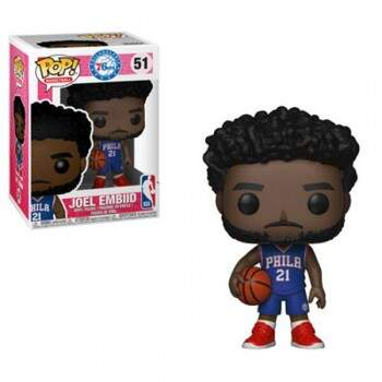 Funko Pop - Joel Embiid - Temporada 18/19 - NBA