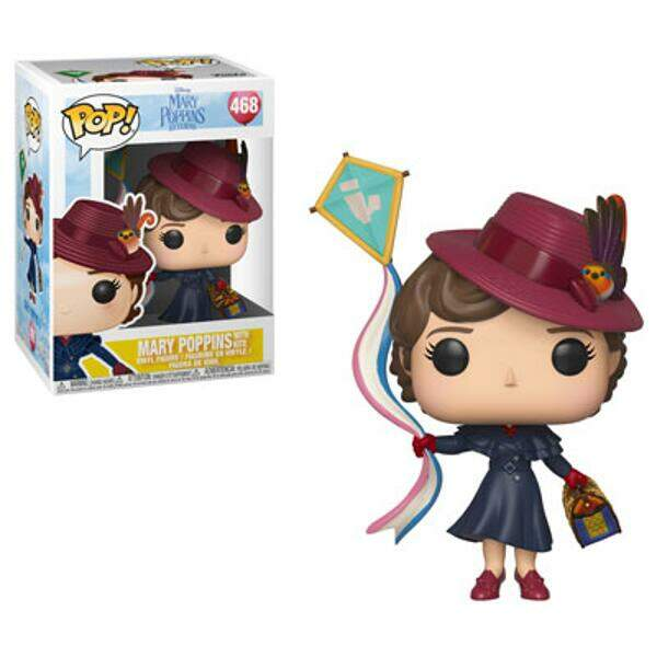 Funko Pop - Mary Poppins com Pipa - Disney