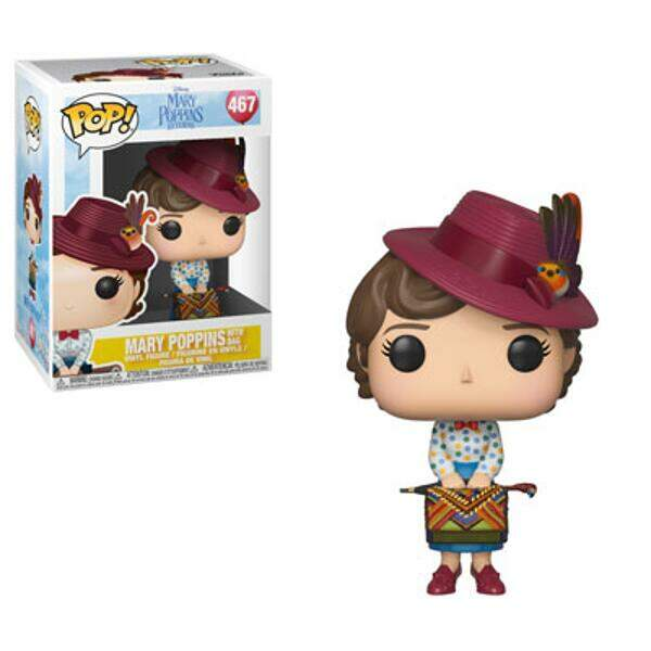 Funko Pop - Mary Poppins com Bolsa - Disney