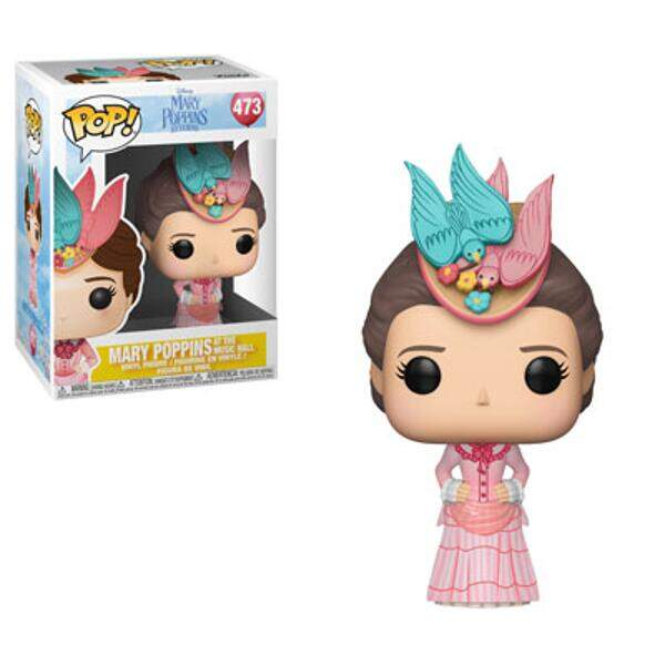Funko Pop - Mary Poppins com Vestido Rosa - Disney