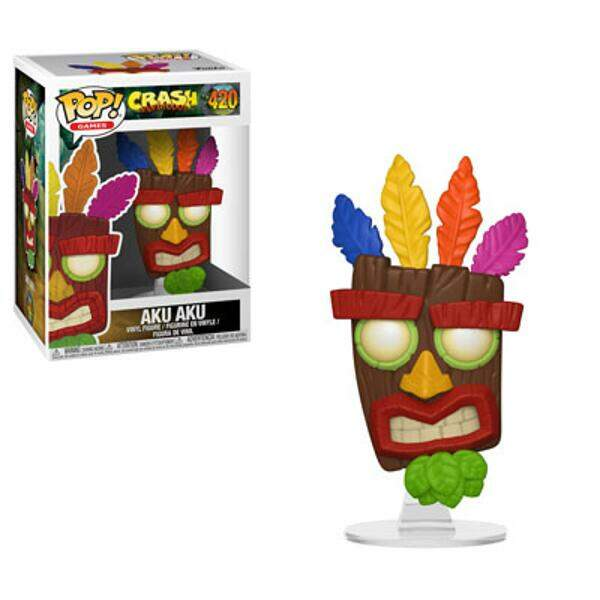 Funko Pop - Aku Aku - Game Crash Bandicoot