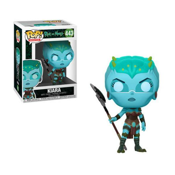 Funko Pop - Kiara - Série Rick and Morty