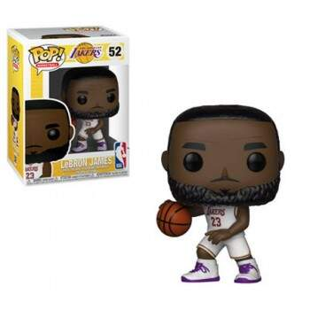 Funko Pop - Lebron James - Temporada 18/19 - NBA