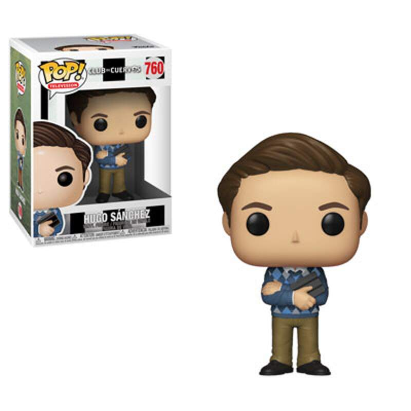 Funko Pop - Hugo Sanchez - Série Club de Cuervos