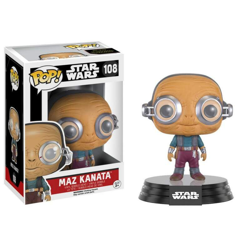 Funko Pop - Maz Kanata - Star Wars