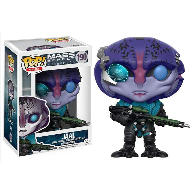 Funko Pop - Jaal - Game Mass Effect