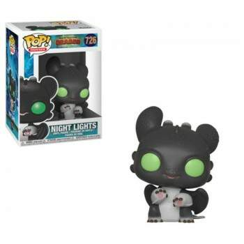 Funko Pop - Night Lights número 726 - Como Treinar o seu Dragão