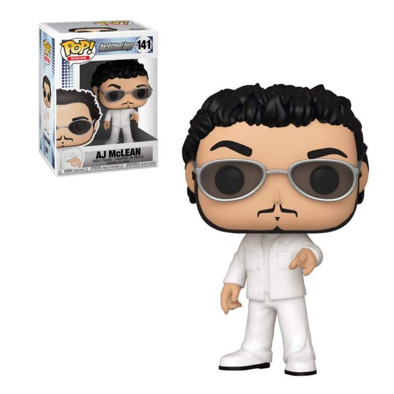 Funko Pop - AJ McLean  - Grupo Backstreet Boys